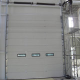 Automatische industrielle obenliegende Schnitttür/vertikale anhebende Tür