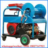 디젤 엔진 110kw 배수관 세탁기 고압 물 분출 하수구 청소