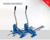 Präzisions-manuelle Stahlrichtlinien-Ausschnitt-Maschine für Richtlinien-Scherblöcke