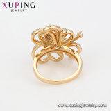 14889 роскошные украшения элегантный Diamond Циркон кольцо, последние версии 18K Gold цветное кольцо для девочек