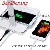 Chargeur sans fil de téléphone du Qi le plus neuf avec la lampe de Tableau d'étude de RoHS de la CE aucun signal d'échantillonnage