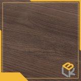 Papier imbibé par mélamine décorative en bois des graines de noix de Balck pour les meubles, garde-robe de constructeur chinois