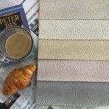 Tissu en polyester tricoté pour le mobilier de couleur blanche