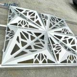 Façade en aluminium de revêtement de mur d'écran de coupure décorative de laser