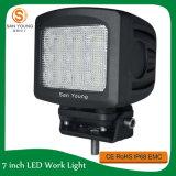 Pollice 90W del CREE 7 dell'indicatore luminoso di azionamento del LED per l'azionamento fuori strada