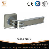 Wenzhou puxador de porta em porta cromado no punho da alavanca de Roseta redonda