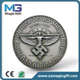 Pièce de monnaie de souvenir personnalisée par ventes chaudes en métal de guerre de mot