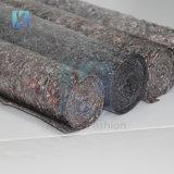 Ткань войлока хлопка серого цвета тканья Китая Non сплетенная