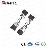 Etiqueta engomada elegante pasiva de la frecuencia ultraelevada 860-960MHz RFID de la gerencia de logística