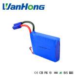 bateria de 11.1V 2300mAh 60*61*78mm para o UPS