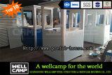 De Post van de Ingang van het Roestvrij staal van Wellcamp