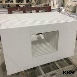 Custom Made Acrylic Solid Surface estilo europeu estilo banheiro vaidade