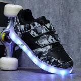 方法子供のための有料LEDスニーカーの偶然靴