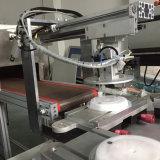 Máquina de impressão plástica automática da tela da tampa da caixa de almoço