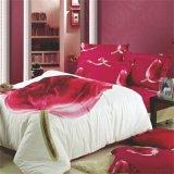 Casa, uso dell'hotel ed insieme materiale 100% del lenzuolo del cotone