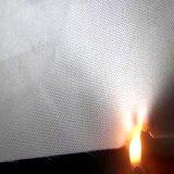 Oxford de poliéster recubierto de tela resistente al fuego y de plata