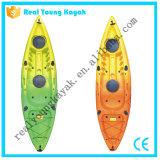 Ryの単一の漁船のプラスチックカヌー釣カヤック(M02)