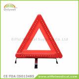救急処置車の安全反射三角形の警告