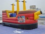 商業海賊船の膨脹可能な跳躍の警備員、海賊船の弾力がある城Inflatables中国の膨脹可能な警備員のスライド、膨脹可能な警備員