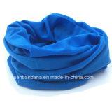 China produtos OEM de Fábrica do tubo do bocal de poliéster azul Bandana