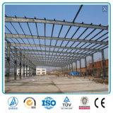 Pre Galvenzide Almacén prefabricado del metal de la casa de la estructura de acero del puntal