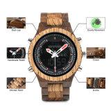 Unisex baratos relojes de madera de la fábrica de China