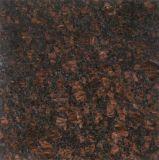 Tuile de mur de carrelage de contre- dessus de Tan Brown de granit de prix usine