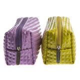 最新のファッション新しいデザイン耐久PUの女性装飾的な袋のジッパー袋