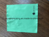 Cor de múltiplos Pano de limpeza de óptica em microfibra com o logotipo personalizado