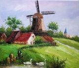 Países Baixos Paisagem pintura a óleo para a decoração da casa