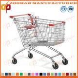 Supermarkt-ozeanische Art-Zink-Einkaufen-Laufkatze (Zht43)