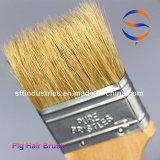 Cepillos de pintura del pelo del cerdo de 2.5 pulgadas para FRP