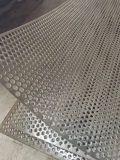 Placa de aluminio perforado de bastidor abierto/hoja para el interior del techo