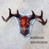 Tenture faite sur commande de crânes de cerfs communs de prix bas de Polyresin