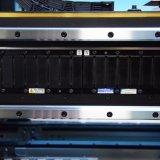 시각계 및 8개의 작동되는 헤드를 가진 수동 후비는 물건과 장소 기계