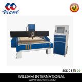 Haciendo publicidad del solo ranurador del CNC de la maquinaria de carpintería del grabador del CNC de la pista (VCT-1530W)