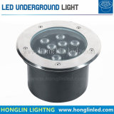 Im Freien RGB Tiefbau-LED Beleuchtung der Leistungs-12W IP65