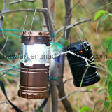 Portable Rechargeable Outdoor Camping Lanterne solaire LED