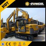 Qualité neuve des prix mini excavatrice Xe80 de chenille de 8 tonnes