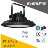 Die-Casting 알루미늄 LED Highbay 가벼운 150W 110lm/W UFO LED Highbay 램프