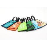 Runde Gepäck-Marke, die kundenspezifische Gepäck-Marke reist und verschalt