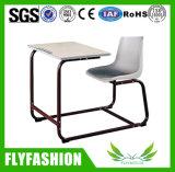 普及した学校家具木のコンボ学生の机および椅子(SF-89S)