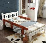 أطفال وسّع سرير مع درابزون صنوبر [سليد ووود] سرير الفتى وبنات أميرة [بد] [ببي بد] ([م-إكس3314])