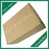 Коробка перевозкы груза Brown Kraft сердца напечатанная логосом