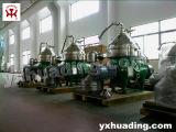 Separador de disco para o processo de refino de petróleo