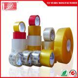 Bande de empaquetage adhésive acrylique jaunâtre de l'espace libre BOPP pour le grippement de produit
