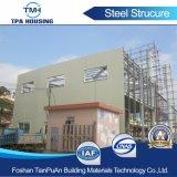 Estructura de acero de la luz de dos pisos del bastidor para Casa prefabricados