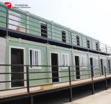 Casa plegable casera estándar modular prefabricada del envase con 2 dormitorios