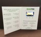 Искусственные ручной работы видео брошюры в ЖК-Craft бумаги буклета формата видео карта поддерживает все форматы видео