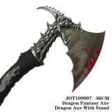 Подарки дня рождения украшения таблицы корабля ножа металла дракона 36cm